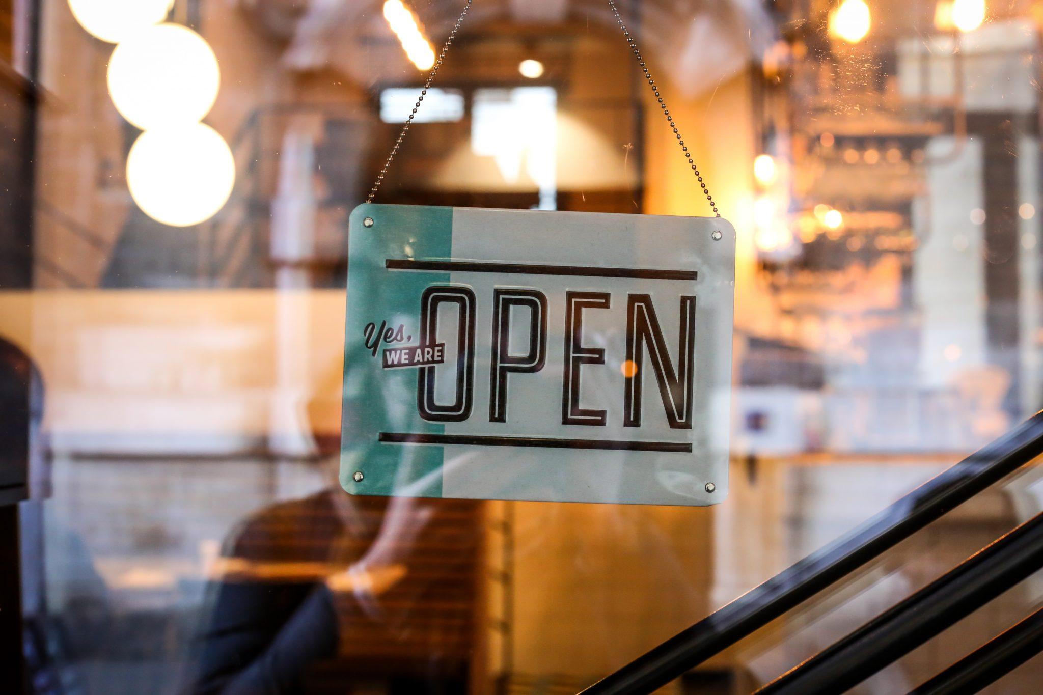 Open winkel